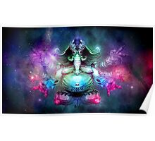 SPACE ELEPHUNT Poster