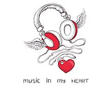 Music In My Heart Photographic Print