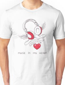 Music In My Heart Unisex T-Shirt