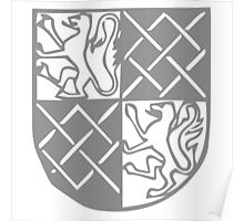 A Complete Guide to Heraldry - Figure 240 — Arms of John Fitz Alan, Earl of Arundel (d 1435) Poster