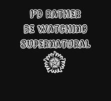 I'd Rather Be Watching SPN Mens V-Neck T-Shirt