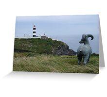 Lighthouse, Near Kinsale Greeting Card