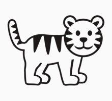 Cute tiger Kids Clothes