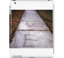 Sidewalk Love  iPad Case/Skin