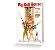 Big Doll House Alt (Khaki) Greeting Card