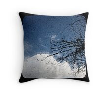Pear Tree And Cloud Ttv Throw Pillow