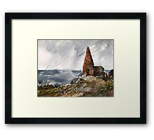 Scotish environment along seashore Framed Print