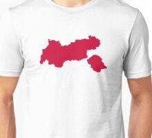 Tirol map austria Unisex T-Shirt