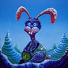 Blue Bunny (without words) by Rainer Kozik
