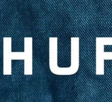HUF : Denim Sticker