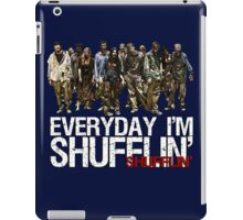 Zombies Just Keep Shufflin' iPad Case/Skin