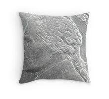 NICKEL ~ IN GOD WE TRUST  Throw Pillow
