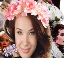 Actual Goddess Sierra Boggess Sticker