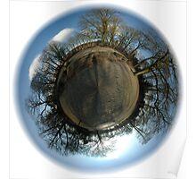 Little Planet - Julianapark 02 Utrecht Poster
