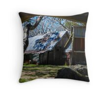 'Wallaces Hut' Throw Pillow