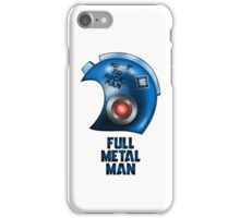 Full Metal Man iPhone Case/Skin