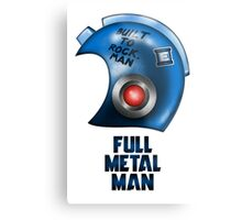 Full Metal Man Metal Print