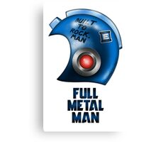 Full Metal Man Canvas Print
