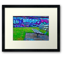 Graffiti.. Framed Print