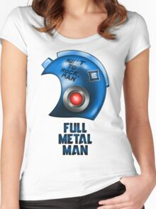 Full Metal Man Women's Fitted Scoop T-Shirt