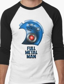Full Metal Man Men's Baseball ¾ T-Shirt