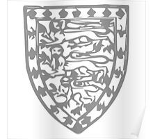 A Complete Guide to Heraldry - Figure 706 — John of Eltham (second son of Edward II) Poster