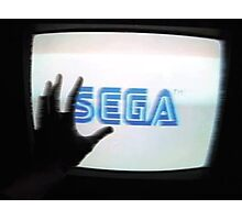 Enter The SEGA Photographic Print