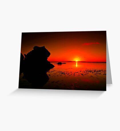 """Lonsdale Sunrise"" Greeting Card"