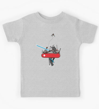 The geek army knife Kids Tee