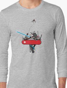 The geek army knife Long Sleeve T-Shirt
