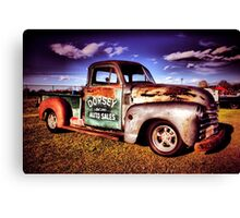 Dorsey auto sales Canvas Print