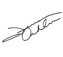 Jensen Ackles Autograph by tardisimpala221