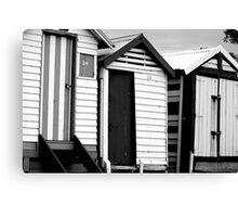Dirty Beach Boxes Canvas Print