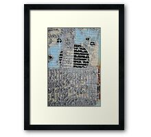 Duct Tape Swan Song Framed Print