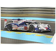 Toyota TS040 Poster