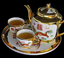 Chinese Tea Set  by EOS20