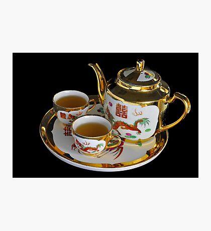 Chinese Tea Set  Photographic Print