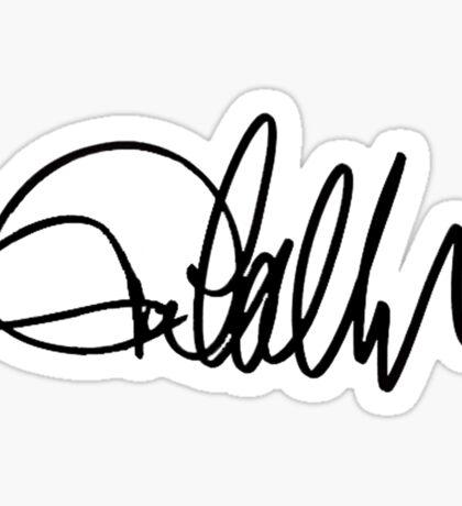 Jared Padalecki Autograph Sticker