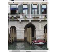 Along the Grand Canal iPad Case/Skin