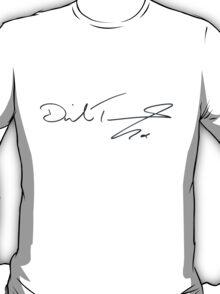 David Tennant Autograph T-Shirt