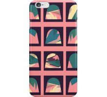 Colourful patterned domes iPhone Case/Skin
