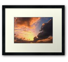 skyscape 2` Framed Print