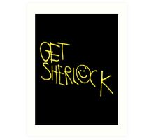 Get Sherlock Art Print