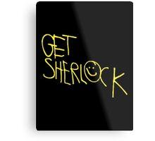 Get Sherlock Metal Print