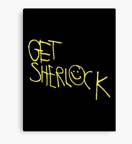 Get Sherlock Canvas Print