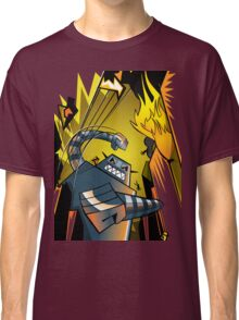 Attack of the giant robot Classic T-Shirt
