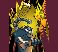 Attack of the giant robot Unisex T-Shirt