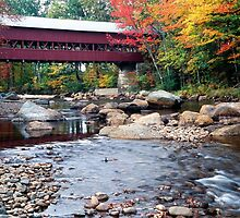 Conway Covered Bridge by George Oze