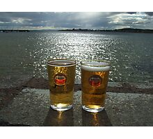 Beer for Two Photographic Print