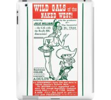 Wild Gals of the Naked West iPad Case/Skin